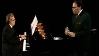 """Walter Berry sings """"Der Tambour"""" by Wolf"""