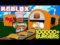 ROBLOX BURGER FACTORY TYCOON