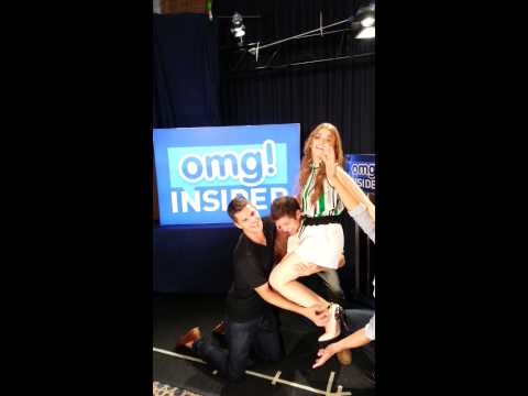 Teen Wolf Cast Behind the Scenes fun at Comic Con with OMG Insider from YouTube · Duration:  38 seconds