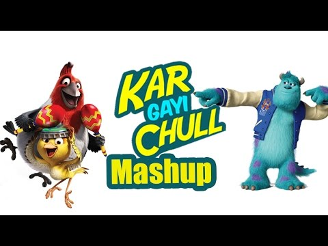Kar Gayi Chull - Mashup | Feat. Badshah | Funny Animated Version