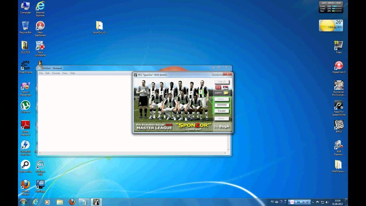 hack money rpes 2010 master league
