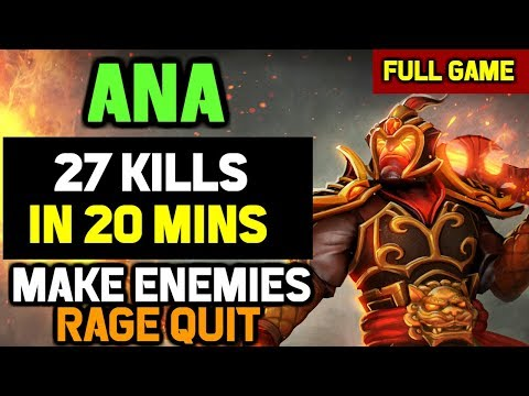 OMG! Ana shows why Ember Spirit is his Signature HERO - 27-0