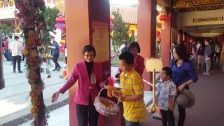 TheDinhFamily - Gia đình đi chùa Đài loan - Mùng hai tết 2017 Đinh Dậu P7