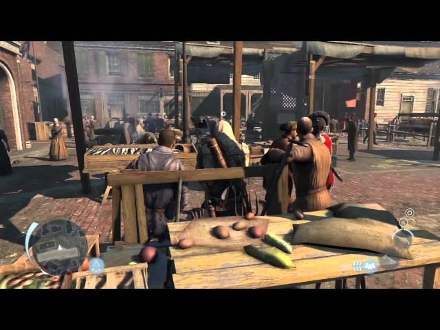 Assassin's Creed 3 - Boston Developer Demo
