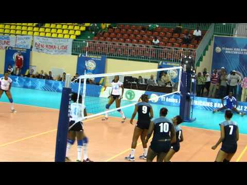 Seychelles V Botswana in Women Pool A at Women's All Africa Games