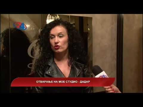 Македонија денес - Отворање на Мое студио - Дадар