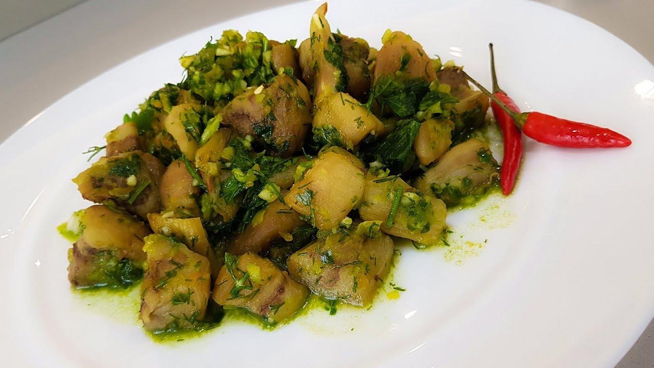 Баклажаны Рецепт /  Вкусная Закуска из Баклажан на скорую руку.