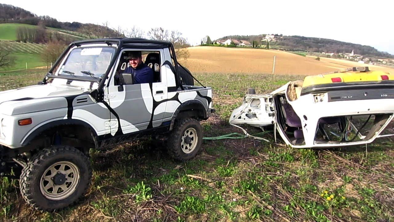 Suzuki Jimny VS Suzuki Samurai - DESTROYING a car !!! - YouTube
