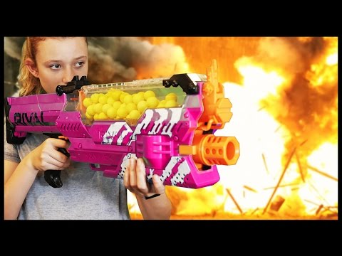 Thumbnail: Nerf WAR: BOY vs GIRL 3