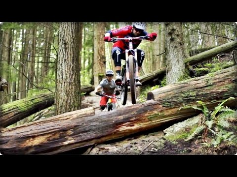 Mtb Downhill Wade Simmons & Remy Metailler in Shred the turbine