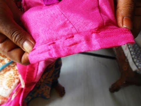 Easy Blouse Thread Hook Locks .:: by Attamma TV ::.
