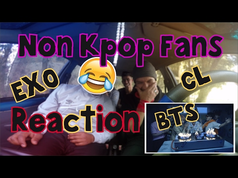 Non Kpop Fans React To : BTS Fire, EXO Monster, & CL Hello Bitchies | Algerian Version |