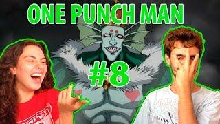 ONE PUNCH MAN episódio 8 - REAÇÃO