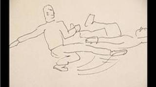 How to Draw a Fight : Drawing a Fight: Sweep Kick