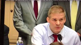 Jeff Sessions tells Jim Jordan -no need of a second special counsel Free HD Video