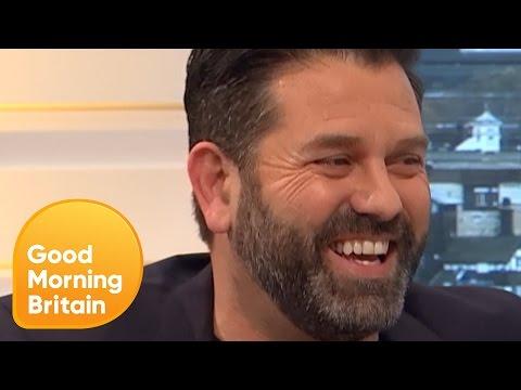 Line of Duty's Patrick Baladi Stays TightLipped About 'Balaclava Man'  Good Morning Britain