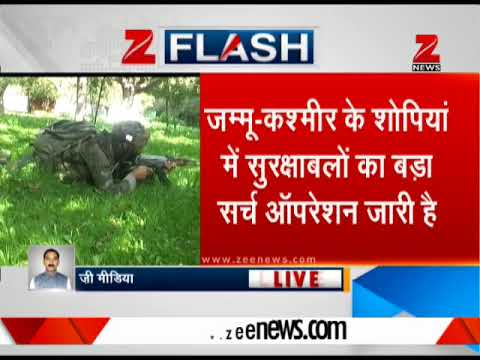 J&K: Search operation of security forces...