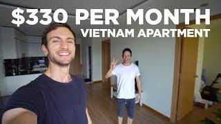 $330 Vietnam Apartment Tour (2 Bedroom in Ho Chi Minh City / Saigon)