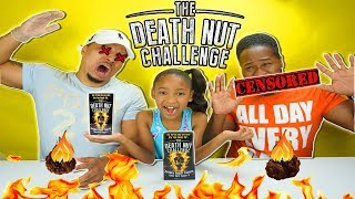 THE DEATH NUT CHALLENGE | GONE WRONG - WORLD'S HOTTEST PEANUTS