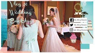 Vlog 20  Wedding Backstage -Wedding Day Vlog Chinese Wedding, Lion Dance, Chinese Tea Ceremony