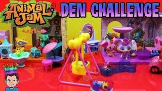 Animal Jam Spielsets - Den Design-Herausforderung! AJ SPIELZEUG - Pets & More