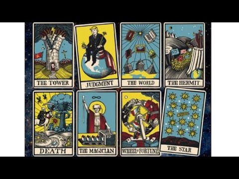"The Economist ""The World In 2017"" Tarot Card Cover - What Does It Mean?"