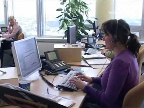 Kundenservice Der Versicherung Im Callcenter, Kundenbetreuung Der NÜRNBERGER Versicherungsgruppe