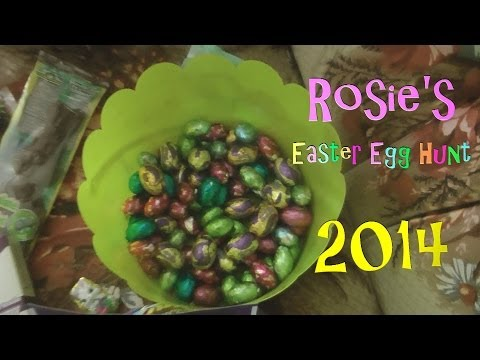 Rosie's Easter Egg Hunt 2014!