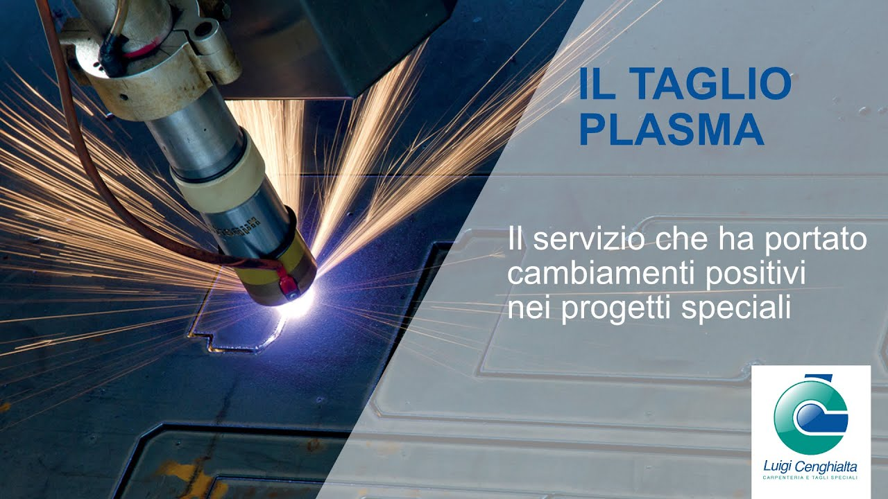 L'acciaio viene tagliato al plasma con semplicità - Ottimo impiego nei progetti speciali e prototipi