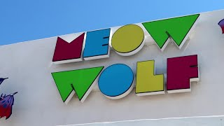 #1018 MEOW WOLF - My Favorite FUN PLACE In America! - Jordan The Lion Daily Travel Vlog (5/21/19)
