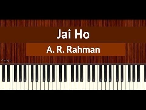 "How To Play ""Jai Ho"" By A. R. Rahman | BollyPiano Tutorial"