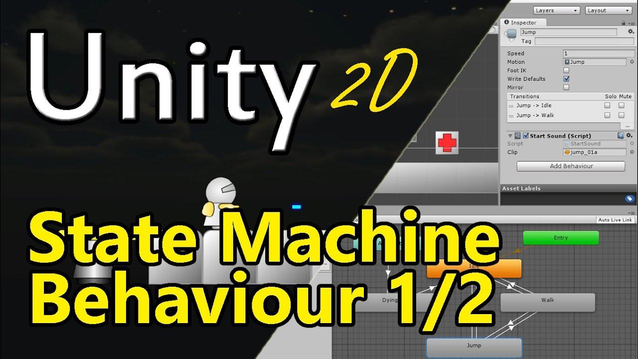 state machine unity