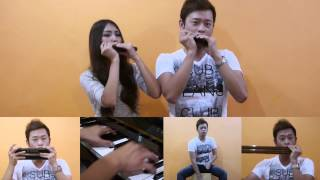 Taylor Swift - I Knew You Were Trouble (Aiden N Evelyn harmonica cover)