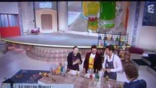"Vincent Niclo "" barman"" émission "" Comment ça va bien "" (21/10/2013))"
