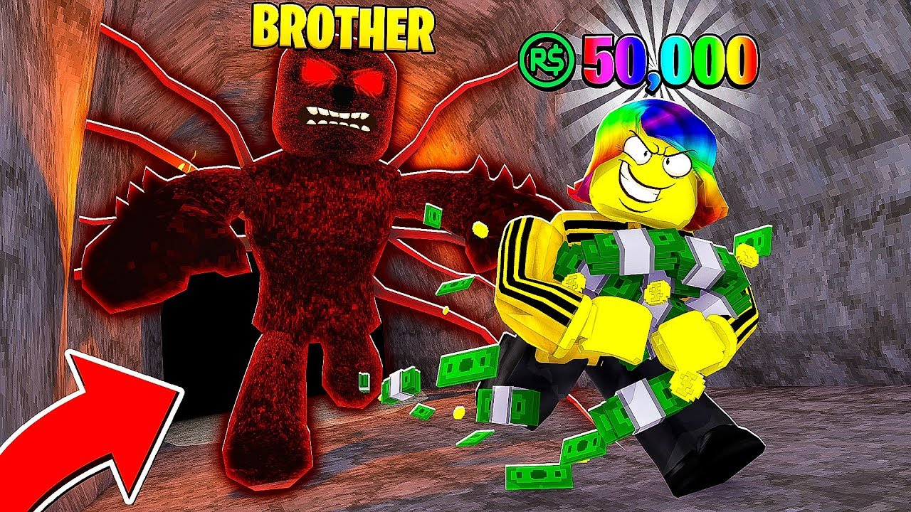 I Don T Know If I Can Win This Roblox Escape The Amazing - I Had To Escape My Big Brother To Win 50 000 Robux Roblox