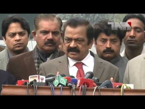 Lahore  Law Minister Punjab Rana Sanaullah Media Talk