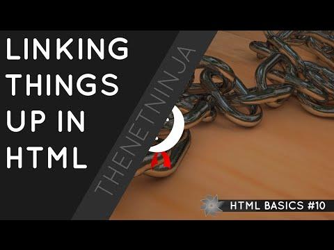 HTML Tutorial For Beginners 10 - HTML Links