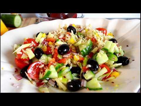 Brown Rice Salad Recipe Summer one Chef Ricardo Juice Bar