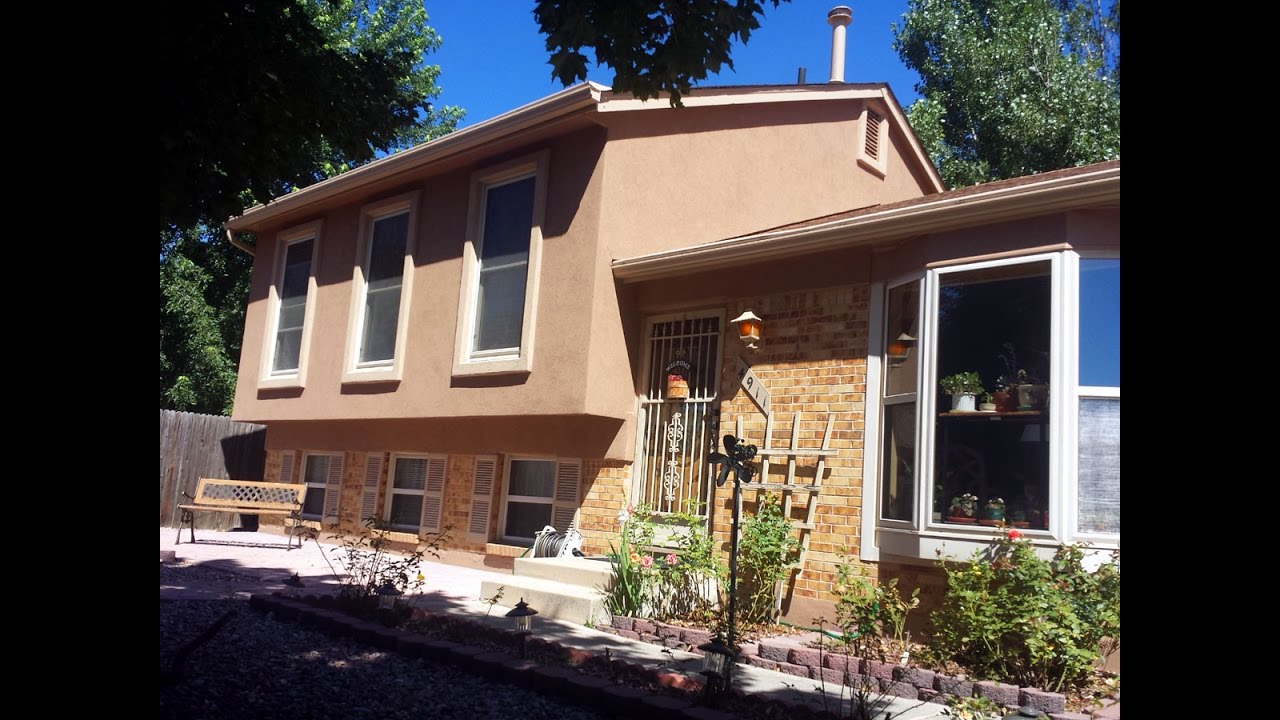 Painting Contractors Colorado Springs Stucco Over Siding Front Range Exteriors Youtube