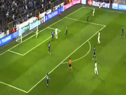 Zlatan Ibrahimovic Amazing Goals vs  Anderlecht   UEFA Champions League 23 10 2013