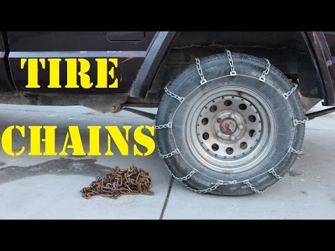 how to install tire chains wcw youtube. Black Bedroom Furniture Sets. Home Design Ideas