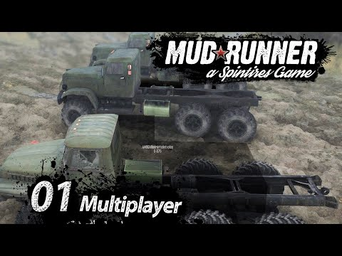 Spintires MudRunner 🚛 Neue Welt: MULTIPLAYER ► #1 Off-Road Simulator deutsch german
