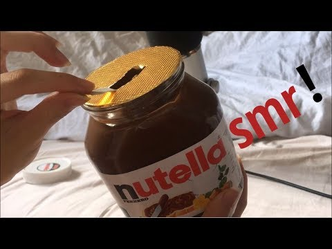 ASMR | Nutella jar