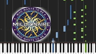 Who Wants to Be a Millionaire - Main Theme [Piano Tutorial] (♫)