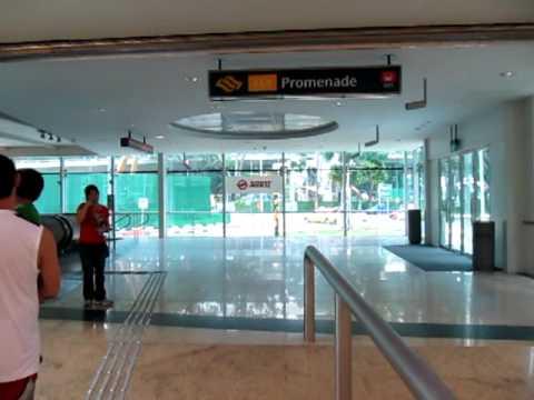 Singapore MRT Promenade Station