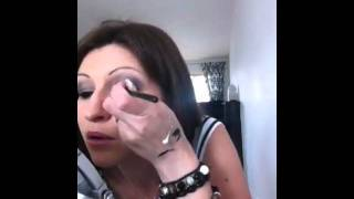 How to apply false eyelashes on Thumbnail