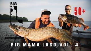 Big Mama Jagd Vol. 4 / Teil 1 - XXL HATTRICK Hecht Zander Barsch