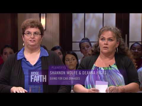Judge Faith - Hit and Run Around  Runaway Roommate Season 2:  Episode 115