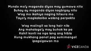 Repeat youtube video Vice Ganda's 'BoomPanes' with Lyrics