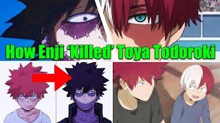 Dabi is Shoto Todoroki's Brother! How Endeavor 'KILLED' Toya Todoroki in My Hero Academia THEORY